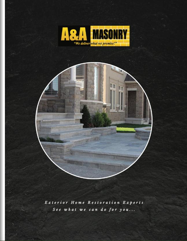 Stonework | Brick Repair | Concrete Repair | Tuckpointing